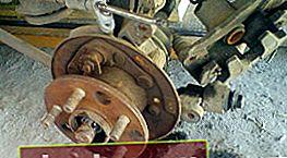 Sostituzione mozzo posteriore Toyota Corona / Caldina