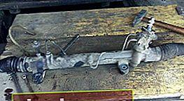 Sostituzione della cremagliera dello sterzo Toyota Avensis