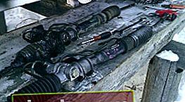 Sostituzione della cremagliera dello sterzo Toyota Corona / Caldina