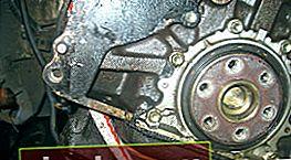 Sostituzione paraolio albero motore Toyota Corona / Caldina
