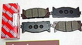 Pastiglie freno per Toyota Camry V40 e V50