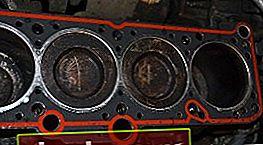 Sostituzione della guarnizione della testata del cilindro sulla Volkswagen Vento